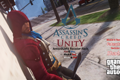 Assassin's Creed Unity Arno Outfit Recolor Pack